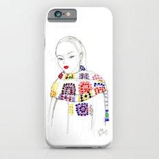 Rainbow Crochet Slim Case iPhone 6s