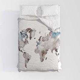 world map 73 Comforters