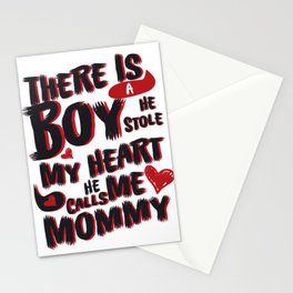 Son He Calls Me Mommy Mother's Day Gift Stationery Cards