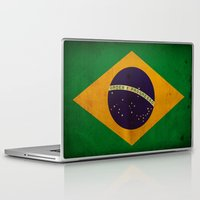 brasil Laptop & iPad Skins featuring Brasil by NicoWriter