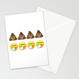 Four Shits And Giggles Stationery Cards
