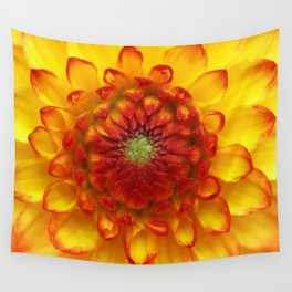 Orange Flower Photograph... Wall Tapestry