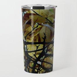 Umbrella Tree ~ Autumn Travel Mug