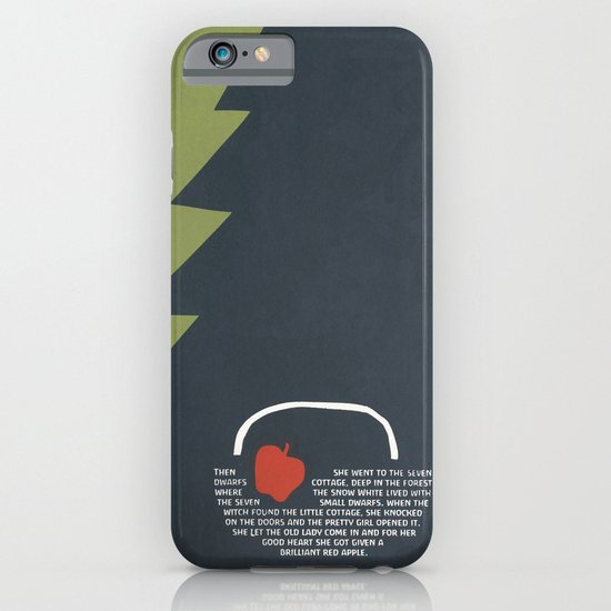 red apple iPhone & iPod Case