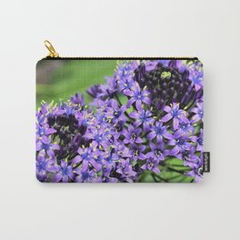 Purple Petals by Reay of Light Photography Carry-All Pouch