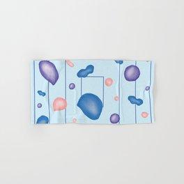 Liquid mastiha floating in space Hand & Bath Towel