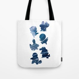 The Water Types Tote Bag
