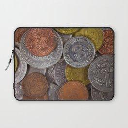 Germany - Deutschmark Old Coins Laptop Sleeve
