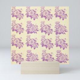 rustic florals Mini Art Print