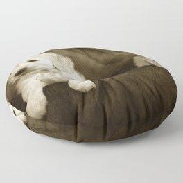 Labrador puppies Floor Pillow