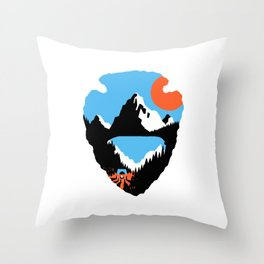 Western Odyssey Throw Pillow
