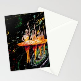 When the stars come out remix Stationery Cards