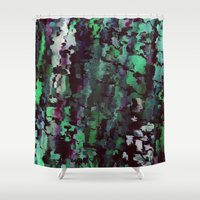 acid Shower Curtains featuring Acid by MonsterBrown