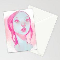 visage - pink Stationery Cards