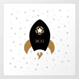 Spaceship #12 Art Print
