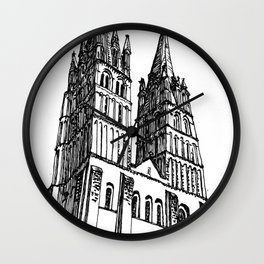 church of the survivor Wall Clock