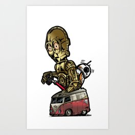 These Are Possibly The Droids You're Looking For Art Print