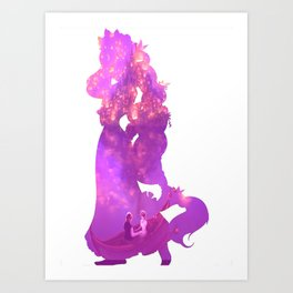 And At Last I've Seen The Light Art Print