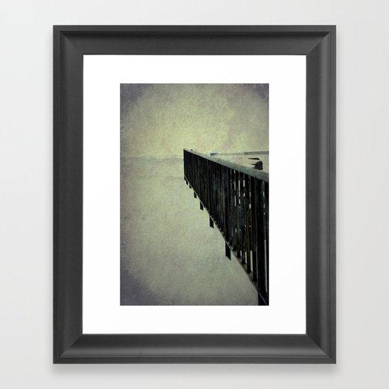 """Lake Erie ~ """"Silent Poetry"""" Framed Art Print"""