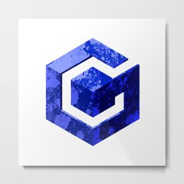 Nintendo Game Cube Metal Print