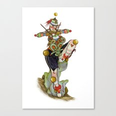 Uru Taquitzl, Ritual Dancer Canvas Print