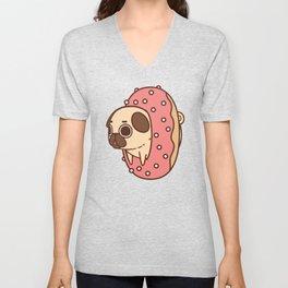 Puglie Doughnut Unisex V-Neck
