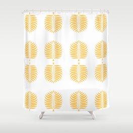 TROPICAL PALMS . CANTALOUPE Shower Curtain