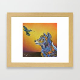 Mesmorized Framed Art Print