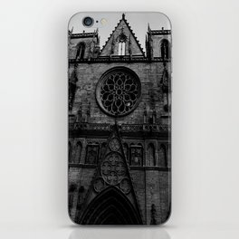 Dark church iPhone Skin