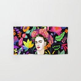 Frida in Bloom Hand & Bath Towel
