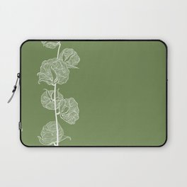 Cotton in Green Laptop Sleeve