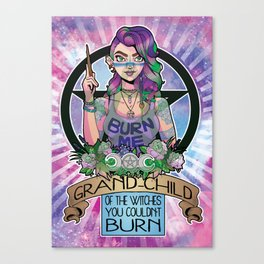 'Sup Witches Canvas Print