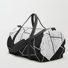 Yin Yang Marble Geometric Glam #1 #geo #decor #art #society6 Duffle Bag