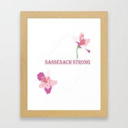 Sassenach Strong Framed Art Print