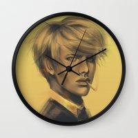 durarara Wall Clocks featuring Shizuo by putemphasis