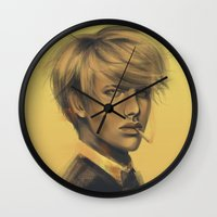 durarara Wall Clocks featuring Shizuo by emametlo