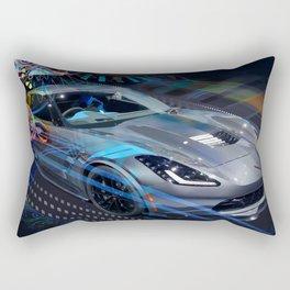 Vett Stingray in Motion Rectangular Pillow