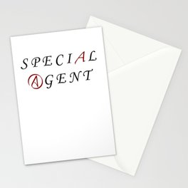 The Special Agent Stationery Cards