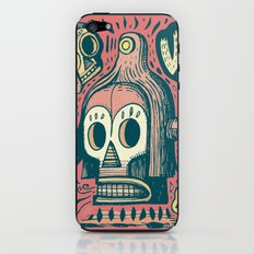 Vision étrange iPhone & iPod Skin