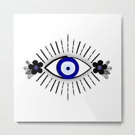 Flower of My Evil Eye Metal Print