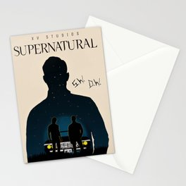 The Super Of Naturals Stationery Cards