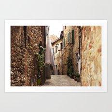 Lucignano Art Print