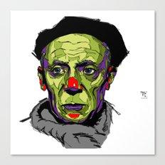 P. Picasso Canvas Print