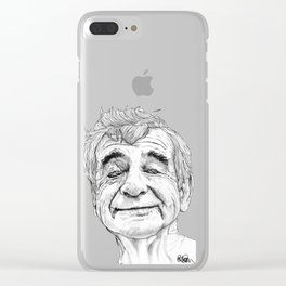 Walter Matthau Clear iPhone Case