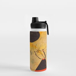 Joan Miro - Deux Personnages - Exhibition Poster - Art Print - Vintage Paintings Water Bottle
