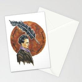 Simone de Beauvoir, retrato en acuarelas Stationery Cards