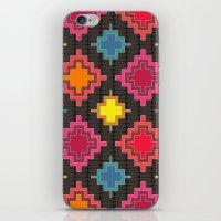 kilim iPhone & iPod Skins featuring kilim bold by Sharon Turner
