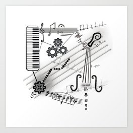 Musical Masterpiece Art Print