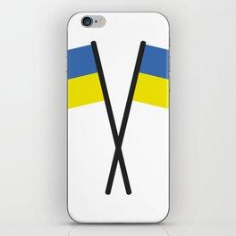Ukrainian flag iPhone Skin
