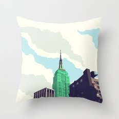 For Julia - NYC Throw Pillow